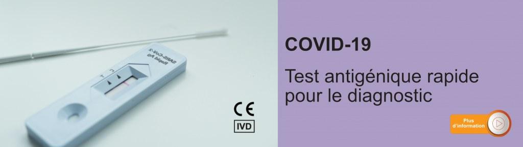Tests antigéniques COVID